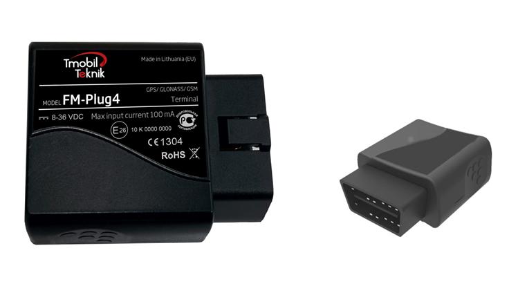 T-Track OBD Plugg elektroniska körjournal