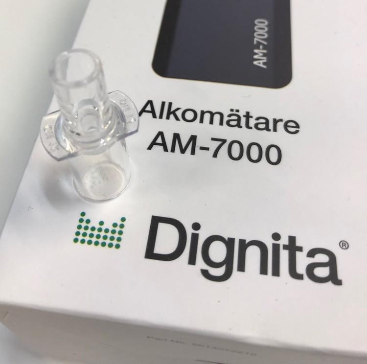 Munstycken till Dignita Alkotestare Am 7000 100 pack