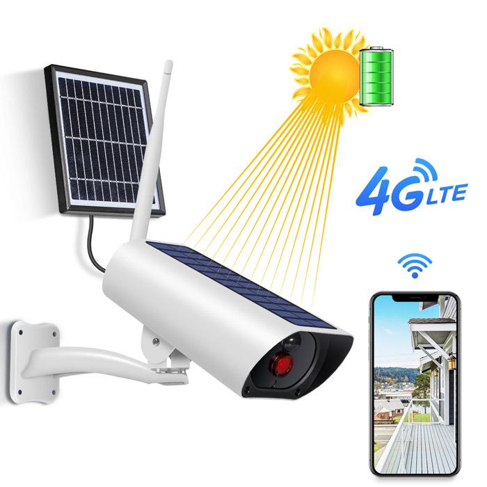 4G kamera med Solcell