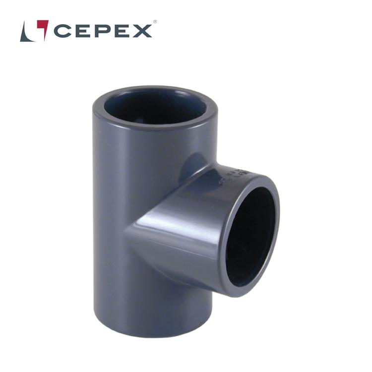 PVC T-stycke, 50 mm