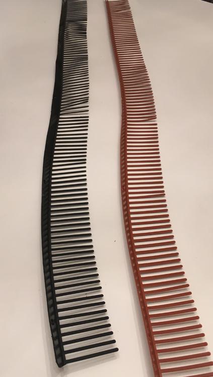 Fågelband tegelröd eller svart 100 m fraktfri