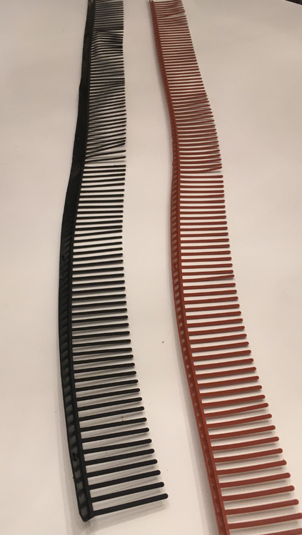 Fågelband tegelröd eller svart 200 meter fraktfri