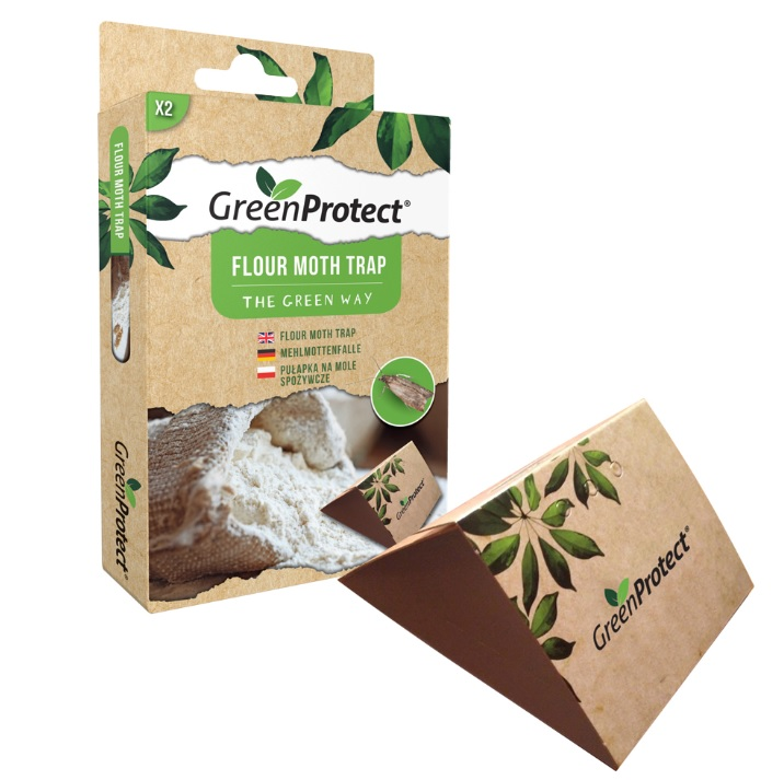 Mjölmalsfälla, GPFMT. Flour moth trap