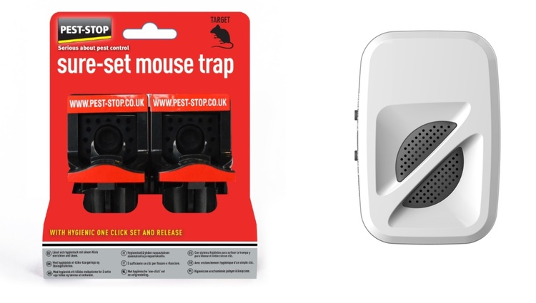 Musskrämma 370 kvm + 2 pack sure set mouse. Erbj till slut