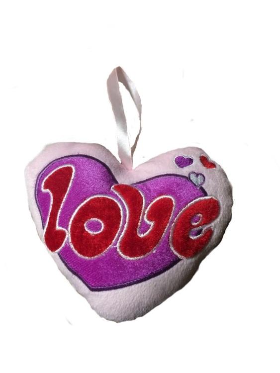 Mjuk Love hänge / 25-pack