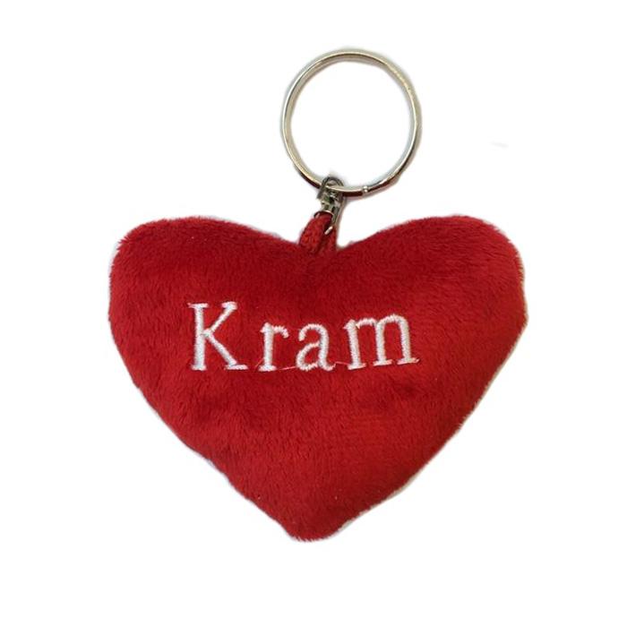 Nyckelring – Kram hjärta
