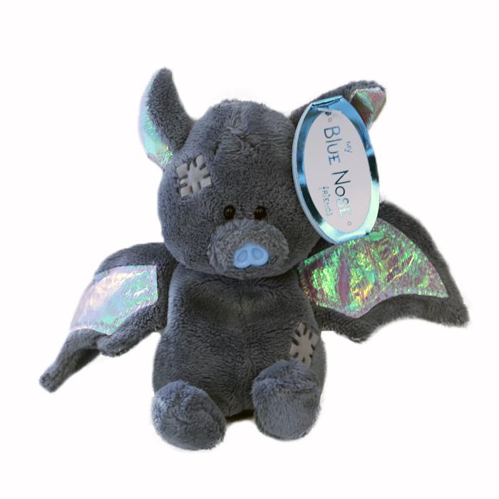 My blue nose friend – Fladdermus 10 cm