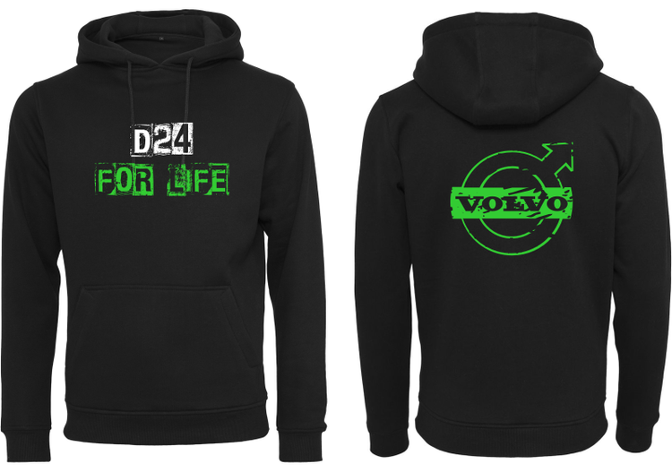 D 24 For Life Hoodie - opstree...