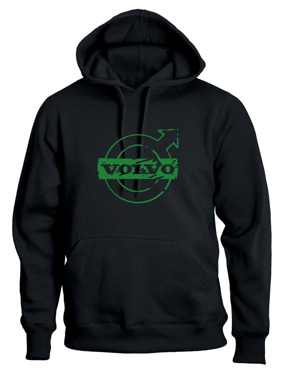 Volvo Hoodie Grön