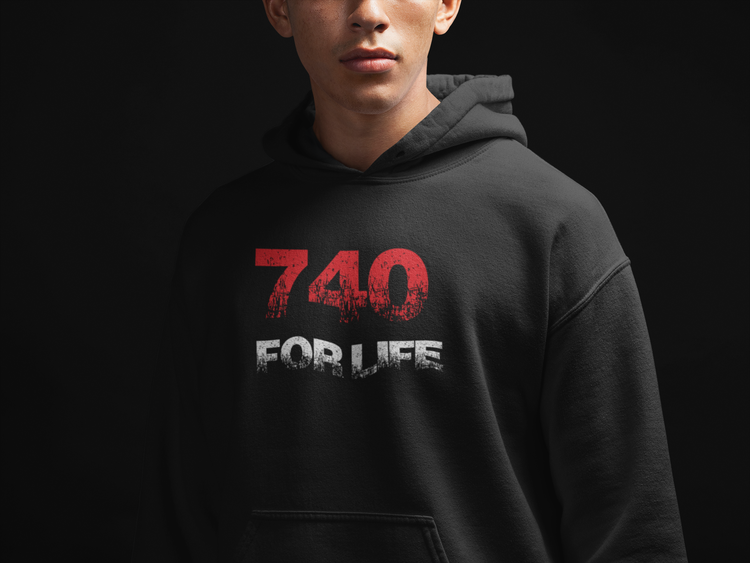 Ny 740 Hoodie Red