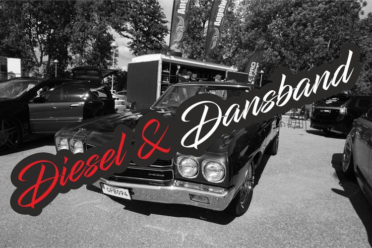 Printad Dekal Diesel och Dansband