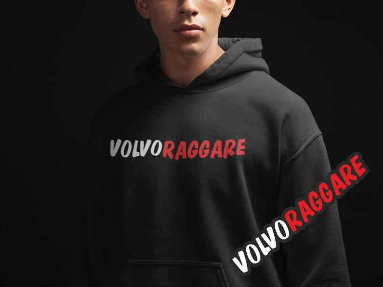 Hoodie Volvoraggare +Dekal