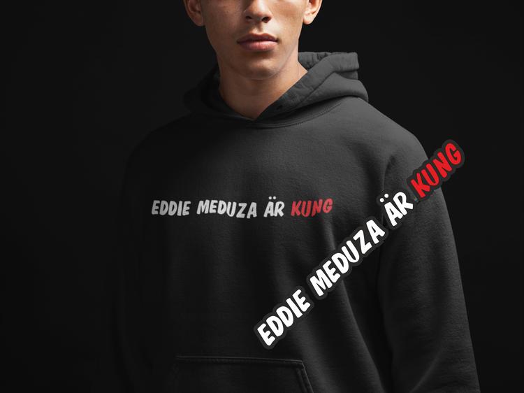 Hoodie Eddie Meduza +Dekal