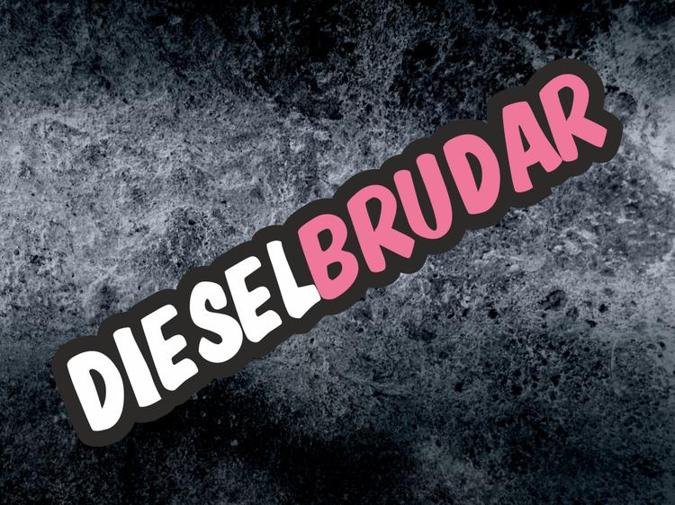 Printad dekal Dieselbrudar