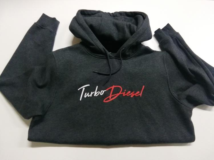Turbo diesel hoodie XXL