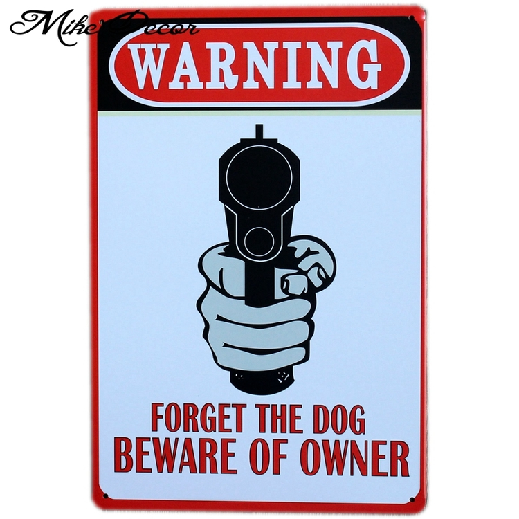 "Home Decor ""BEWARE OF OWNER"""