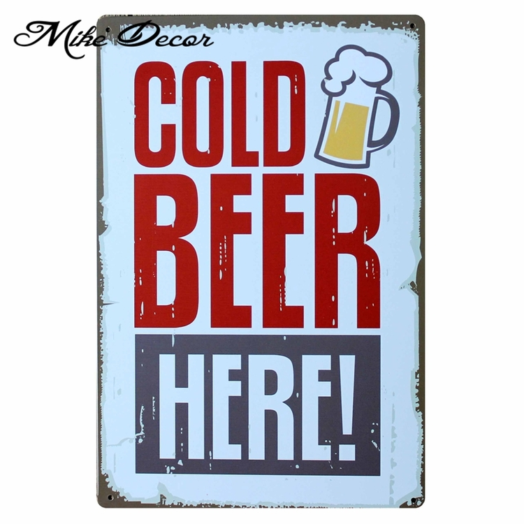 Home Decor: Cold Beer