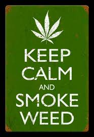 Home Decor: Keep Calm And Smoke