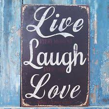 Home Decor: Live Laugh Love