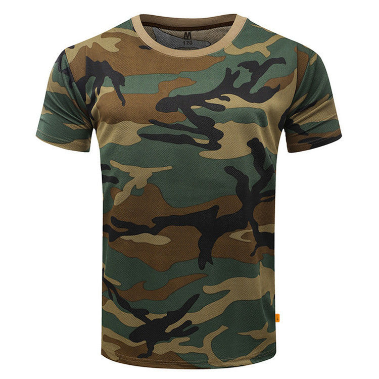 T-Shirt Military Camouflage