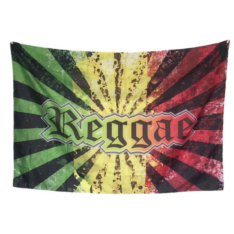 Reggae Rasta BOB Marley  Flag 128x192cm