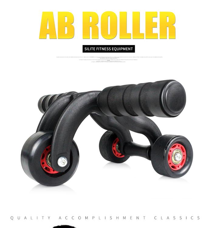 Three Wheels Abdominal Wheel Ab Roller