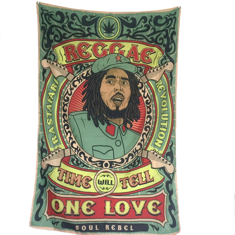 Reggae  Hanging Flag. 144cmx96cm