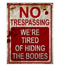 Home Decor: No Trespassing