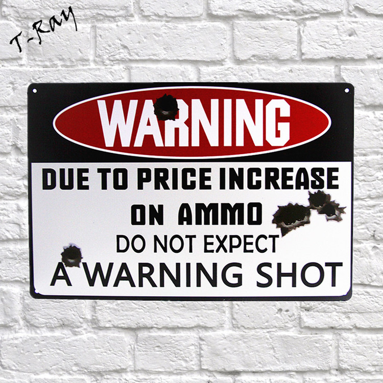 "Home Decor ""Warning"""