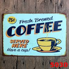 Fresh Brewed Coffe