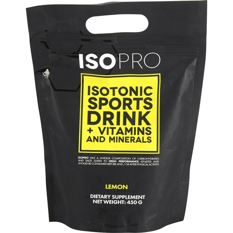 Sportdryckspulver  IsoPro Lemon