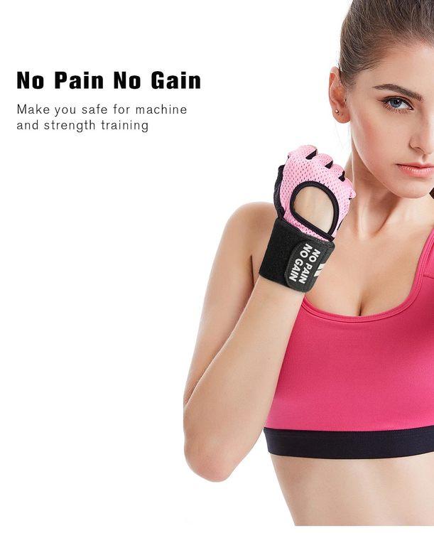 Weight Lifting Glove: NO PAIN NO GAIN