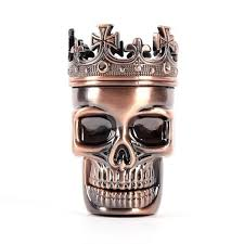 Skull Metal Tobacco Weed Mill