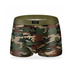 Men Boxer Army Camouflage