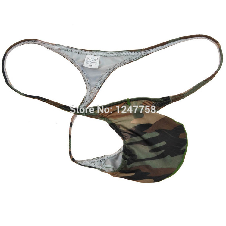 Camouflage Thongs Mini Bikinis