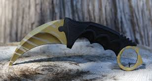 Karambit Gold Tiger