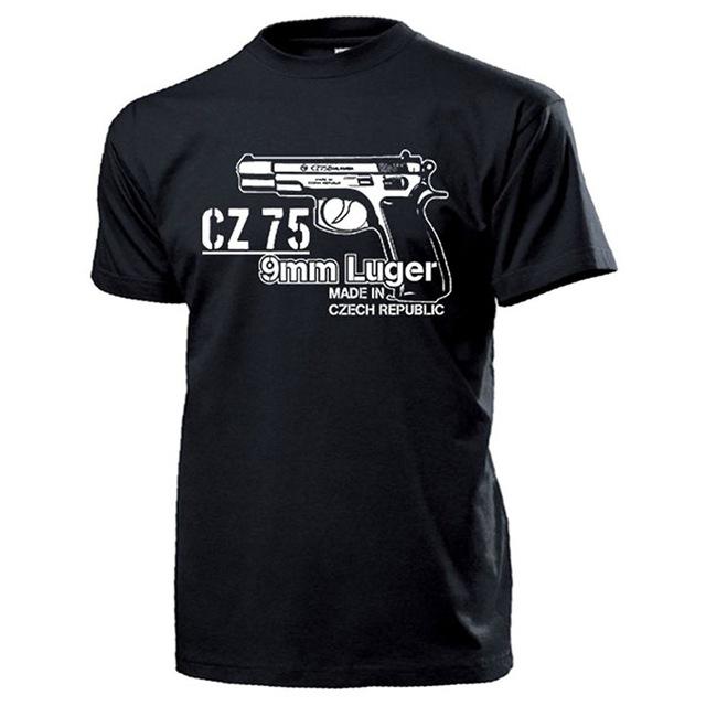 T-Shirt  CZ 75 9mm Luger pistol