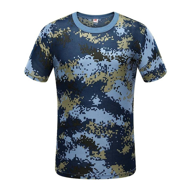 T Shirt Camouflage Army Military