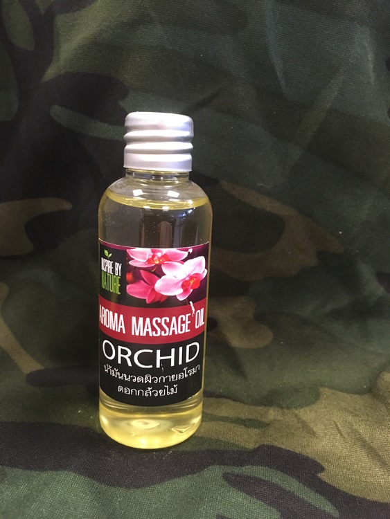 Massage Oil; Orchid