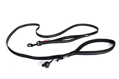EZYDOG koppel soft trainer svart Lite 12MMX181CM