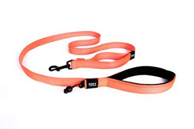 EZYDOG koppel soft trainer orange 25 mm X 181 cm traffic control