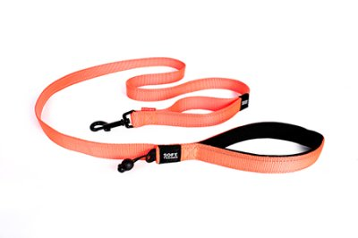EZYDOG koppel soft trainer orange 25 mm X 181 cm traffic control