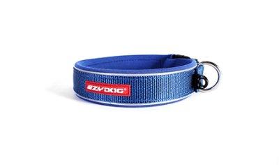 EZYDOG Halsband neopren reflex Blå