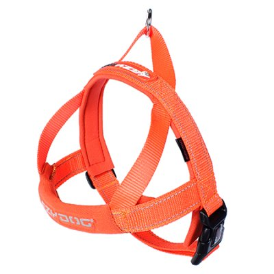 EZYDOG Harness Quickfit Neopren Orange (verstellbar)