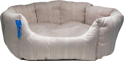 hundbädd oval Nelly 54x45x21 cm