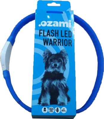 Halsband Flash Led Warrior 65 cm