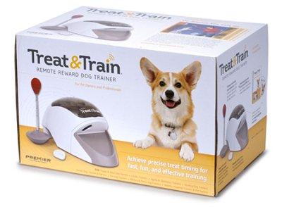 BEHANDLUNG & ZUG Remote Reward Hundetrainer