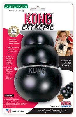 KONG Extreme Schwarz XXL 16 x 10