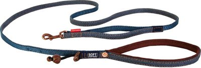 EZYDOG KOPPEL SOFT TRAINER DENIM LITE 12 mm X 181 cm < 20 kg