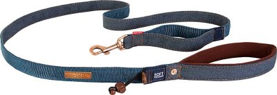 EZYDOG KOPPEL SOFT TRAINER DENIM 25 mm X 181 cm